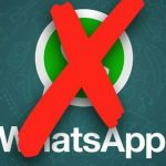توقف WhatsApp عن العمل