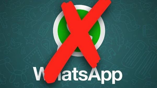 توقف WhatsApp عن العمل