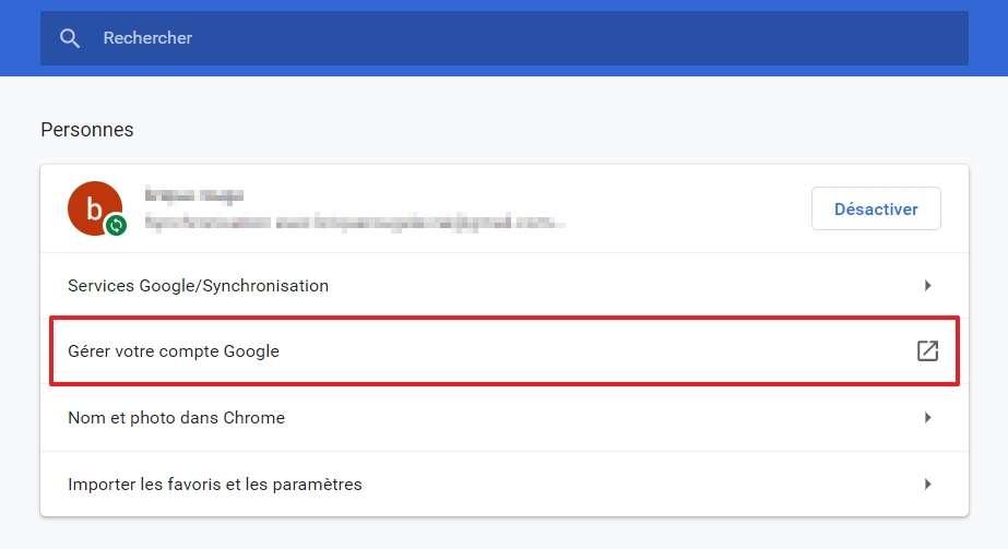 طريقة تغيير اسم جوجل
