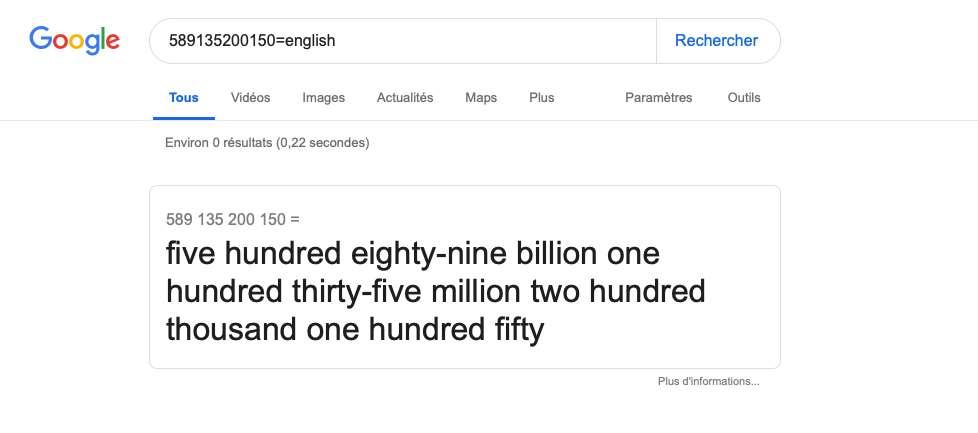 ادوات البحث على جوجل