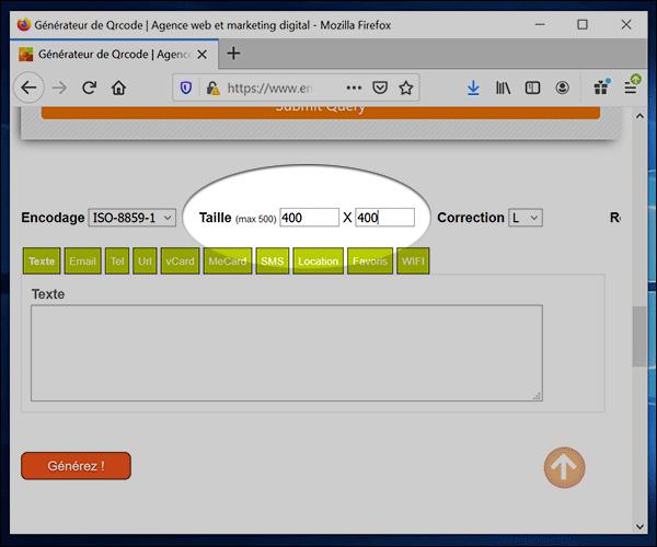 كيفية إنشاء QR code