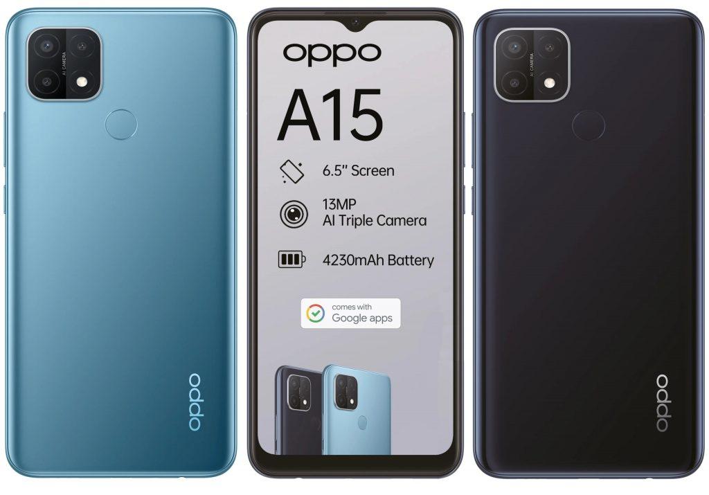 مواصفات Oppo A15